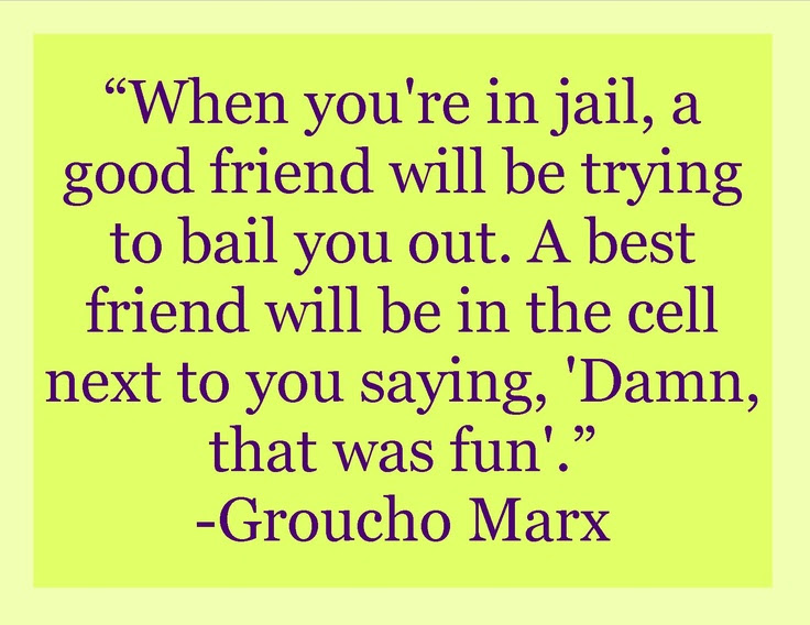 Best Friend Jail Quote Best Friend Quotes