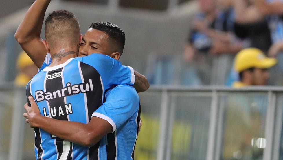 Resultado de imagen para El Gremio vapulea 4-0 al Zamora y se asegura la primera posición del grupo