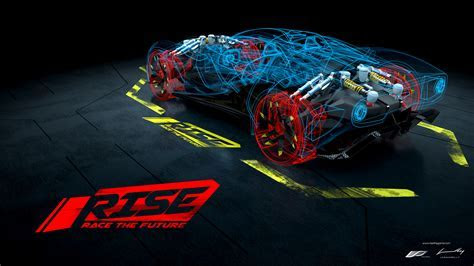 Wallpaper Rise: Race the Future, Driving game, Racing