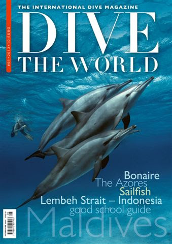 Announcing Dive The World   The International Dive Magazine scuba travel scuba free diving  lifestyle magazine diving dive travel DIVE THE WORLD adventure travel