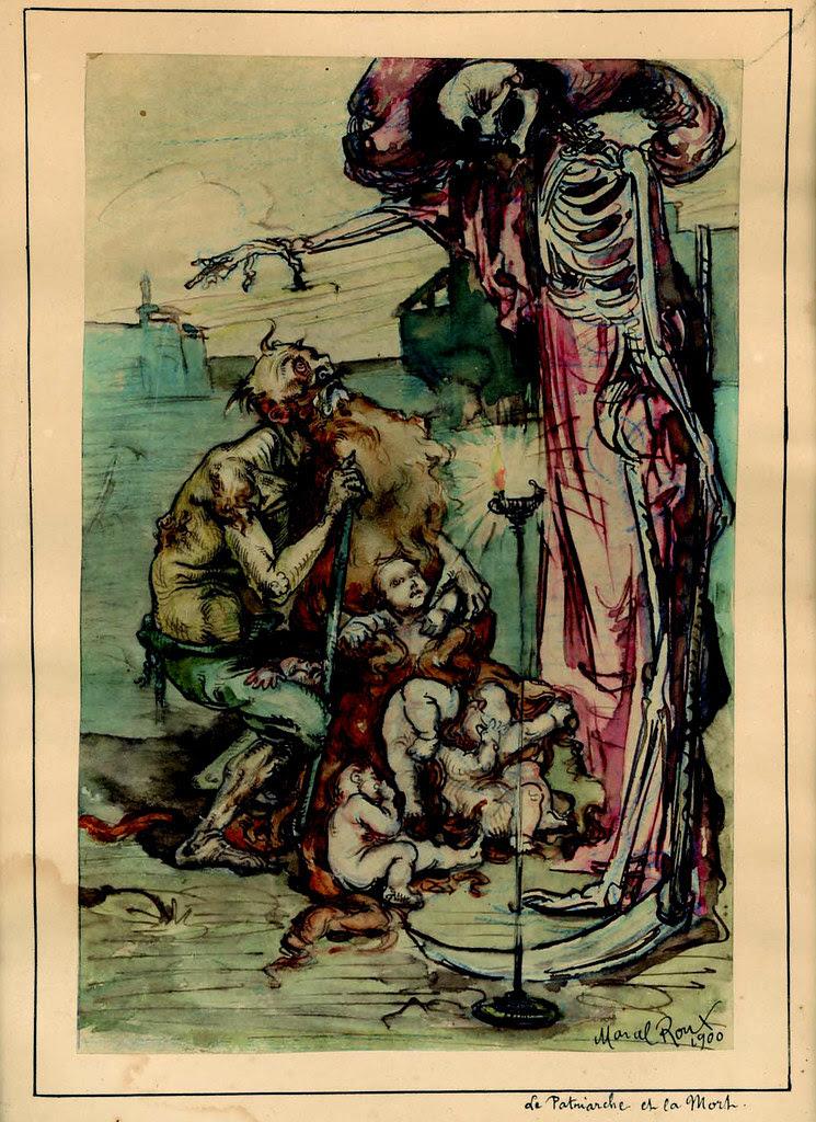Marcel Roux - Le patriarche et la mort (1900)