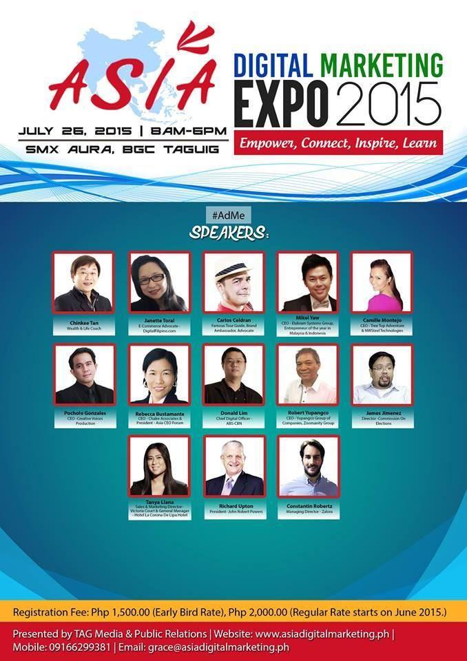 Asia Digital Marketing Expo 2015