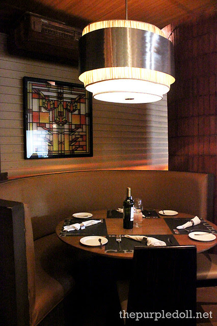 Booth Seating at Chops Chicago Steakhouse