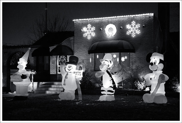 Seasonal Decorations BW