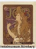 Cartaz do mestre da art noveau Alfons Mucha