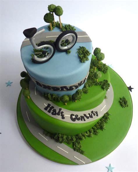 2 tier round Cycle Cake   Karen's Cakes