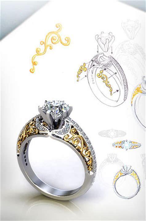 Custom Engagement Ring   Design Your Own