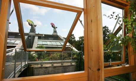 BedZED green housing development in Wallington, Surrey