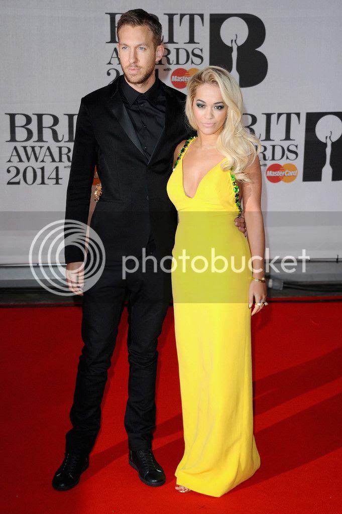 Rita Ora's red carpet look at Brit Awards...