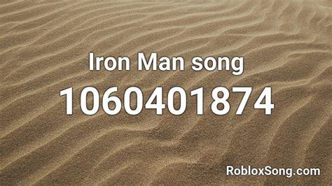 iron man song roblox id roblox  codes