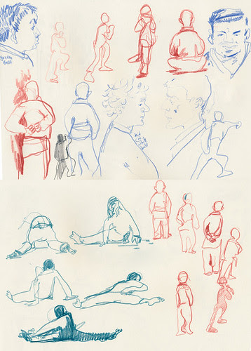 December 2013: My Life Drawing Class by apple-pine