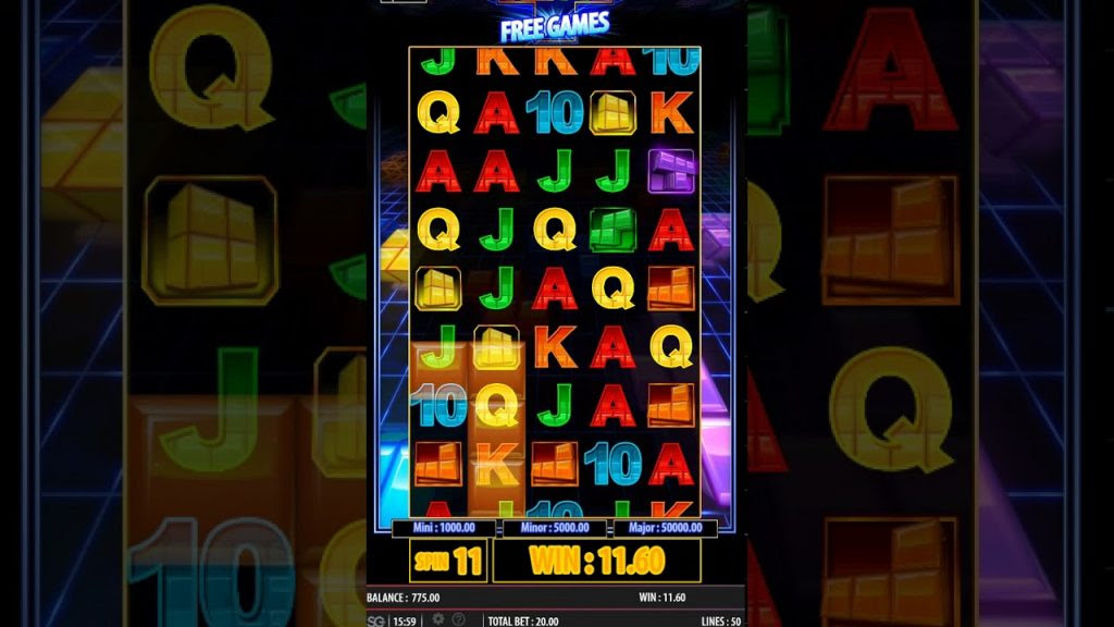 WMS have taken inspiration from a cult computer puzzle game for their slot Tetris Super Jackpots.This 5 reel, 3 row video slot offers ways to win.5/5.