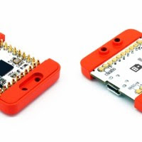 mCookies from microduino are compatible with Arduinos, stack with magnets, and fit into Lego projects.