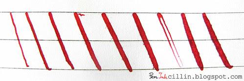 Noodler's Ahab line variation