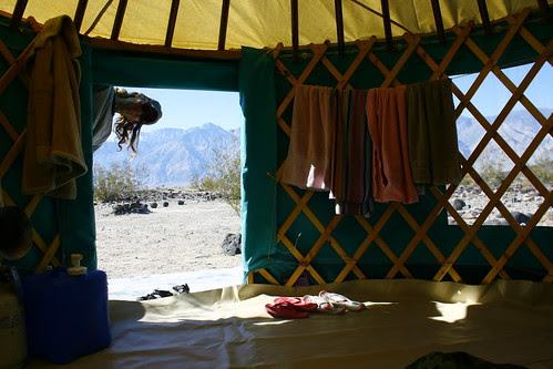 My Yurt @ Saline Valley