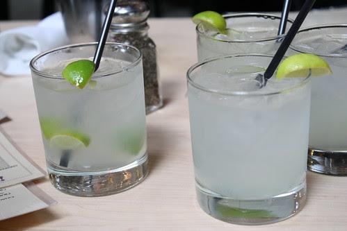 Margaritas at Loteria Grill