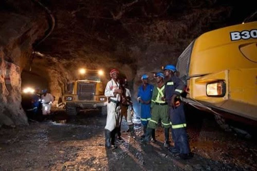 Miners in Zimbabwe where diamonds are a substantial portion of the national exports. Anjin is retrenching nearly 1000 workers. by Pan-African News Wire File Photos
