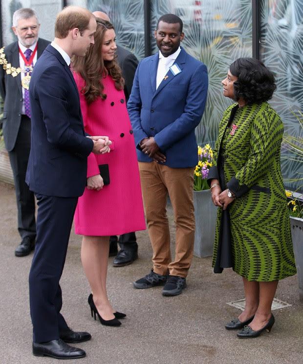 Kate Middleton e o marido, Príncipe William (Foto: Getty Images)