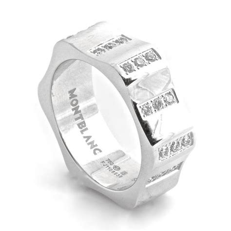 montblanc mens ring rings pinterest diamonds