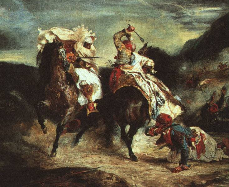 Eugene Delacroix Romanticism Art