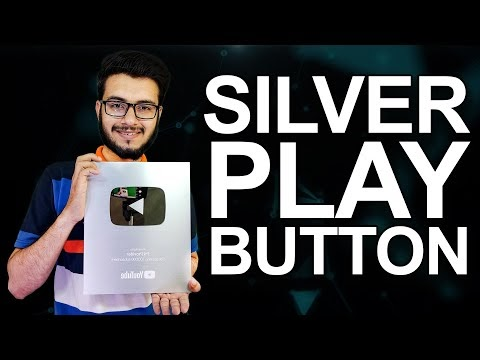 SILVER PLAY BUTTON - 100K SUBSCRIBERS P4 PROVIDER FAMILY