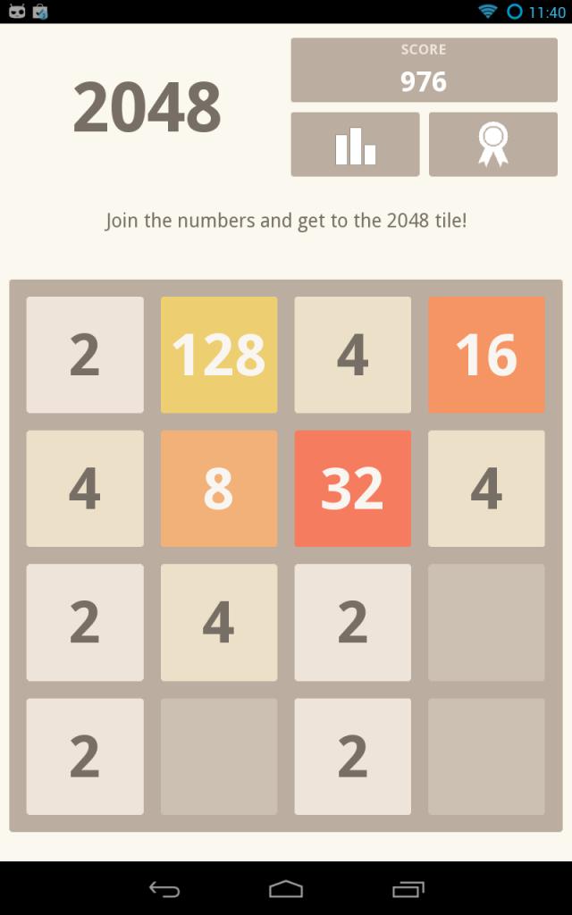 Browser game, gioco divertente e veloce 2048, crea coppie coi tasselli da 2