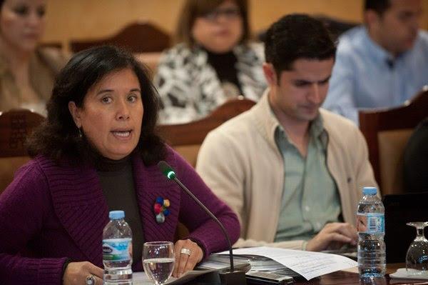 Mayca Coello, portavoz de Sí se puede en Candelaria. | FRAN PALLERO