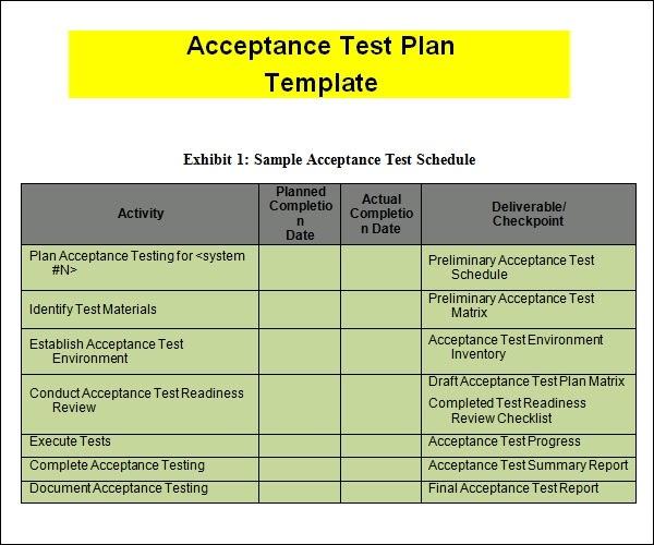 sample test strategy document template - en zg n iirler en anlaml s zler rceler test plan