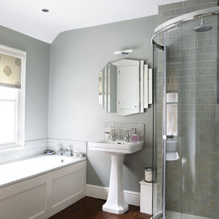 Grey bathroom - housetohome.co.uk contemporary bathroom