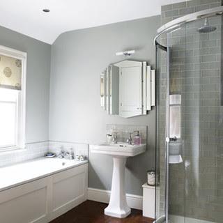Grey bathroom - housetohome.co.uk contemporary bathroom