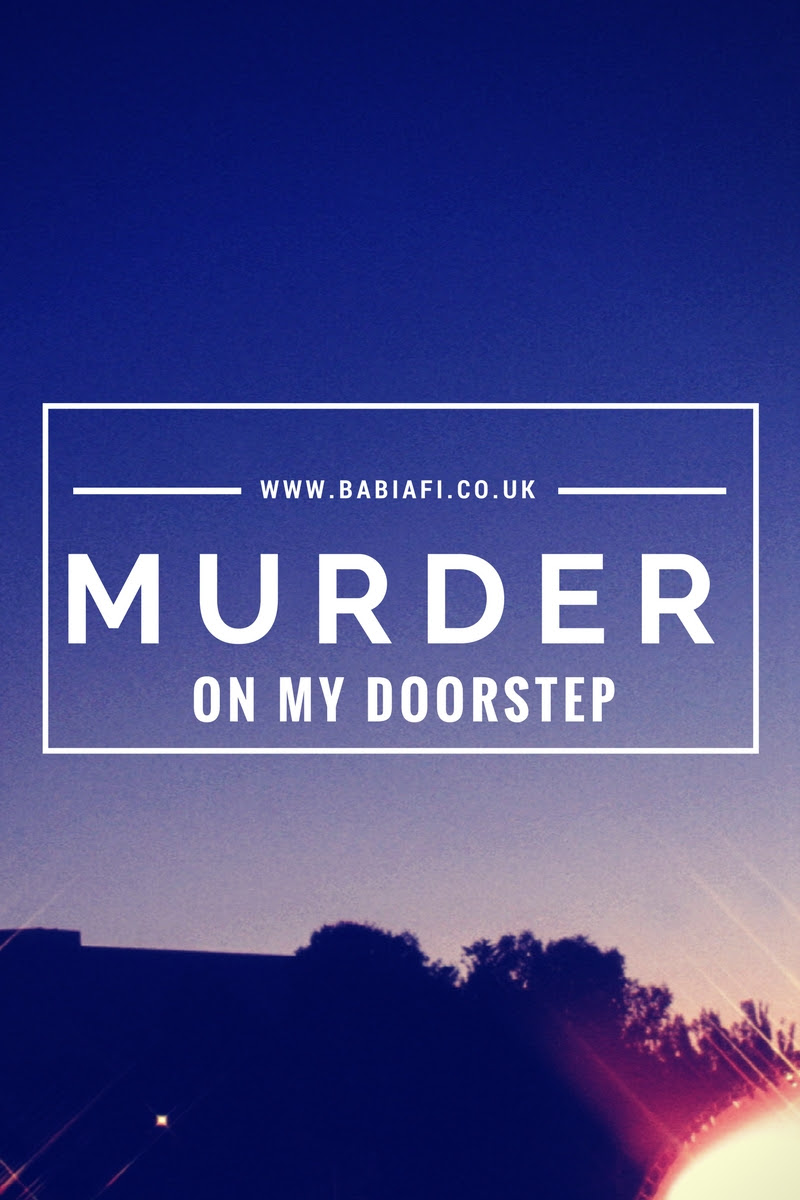 Murder On My Doorstep