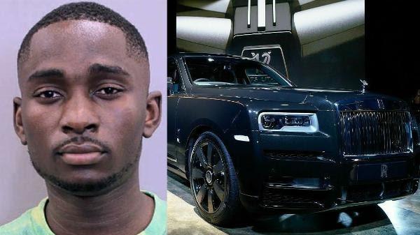 Nigerian Man Arrested In Texas For Allegedly Stealing $300k Rolls-Royce