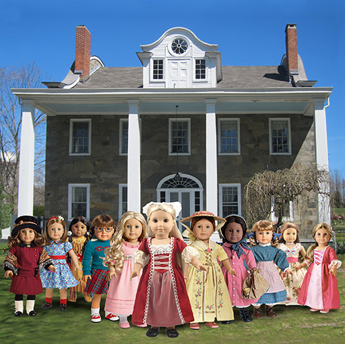 american girl doll tea