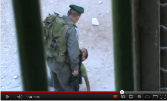 Captura del video difundido