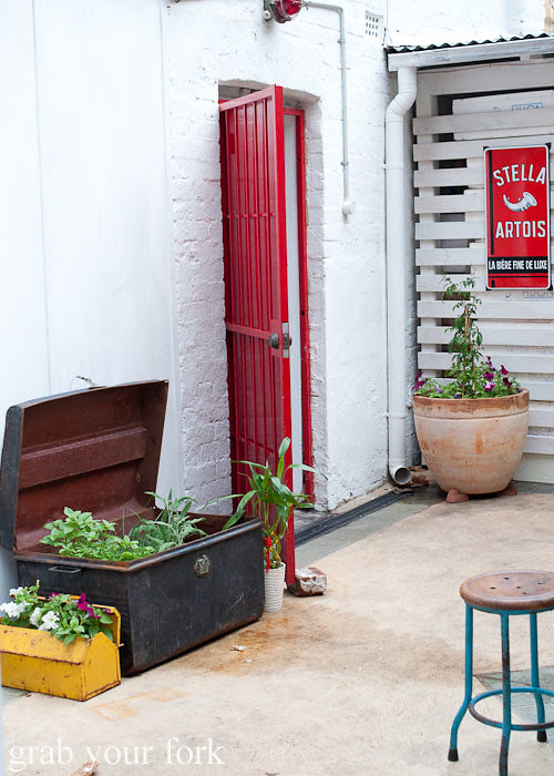 Courtyard at Fish Place Surry Hills