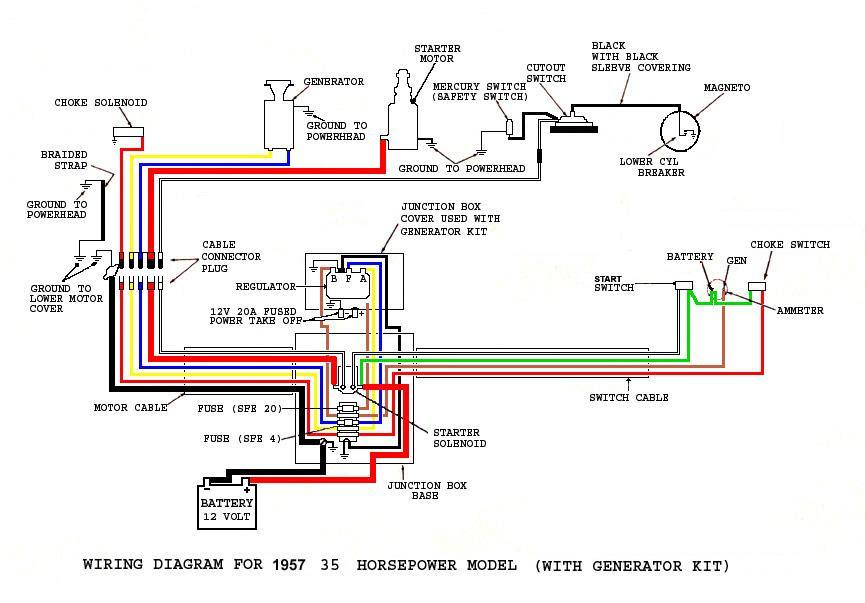 35 Evinrude Wiring Diagram