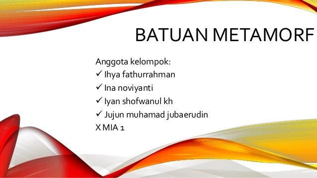 Contoh Deskripsi Batuan - Jobs ID 2017