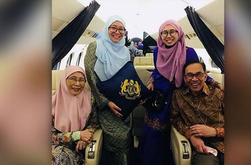 Keluarga guna jet peribadi: Nurul Izah jawab urusan rasmi