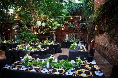 The Firehouse Wedding Venue Restaurant in Sacramento CA