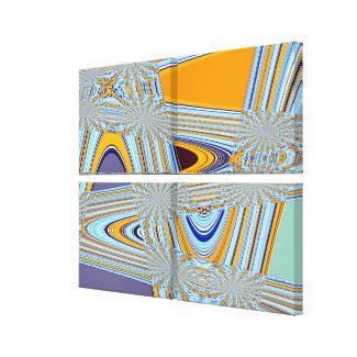 Swallowtail Redux Wrapped Canvas Print wrappedcanvas
