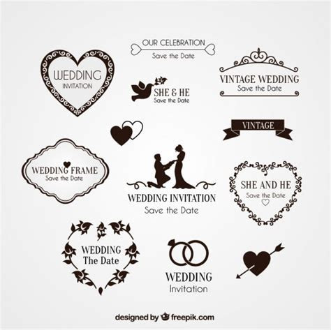 Wedding Vectors, Photos and PSD files   Free Download