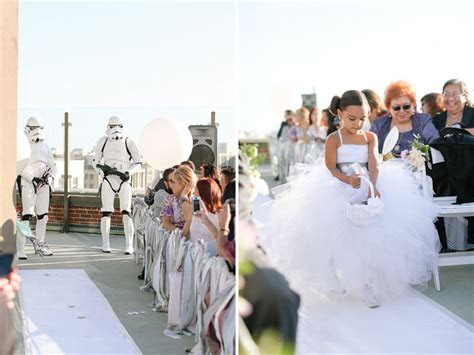 Star Wars Inspired Wedding: Jennifer   Joshua   Green
