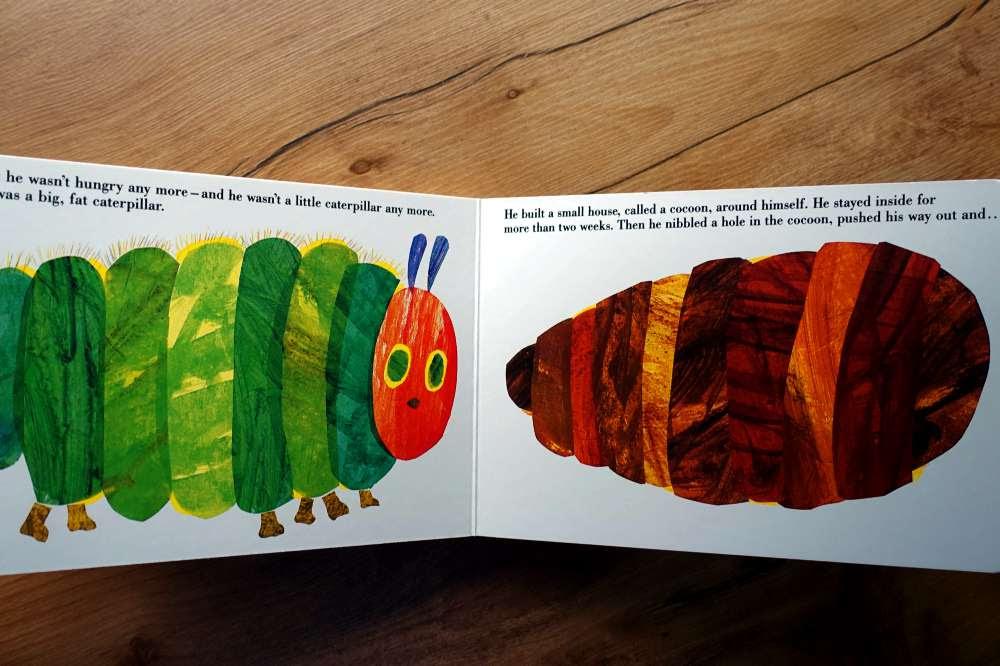 歷經半世紀的故事 The Very Hungry Caterpillar 向這隻好餓毛毛蟲致敬 - 愛小宜的甜蜜小窩