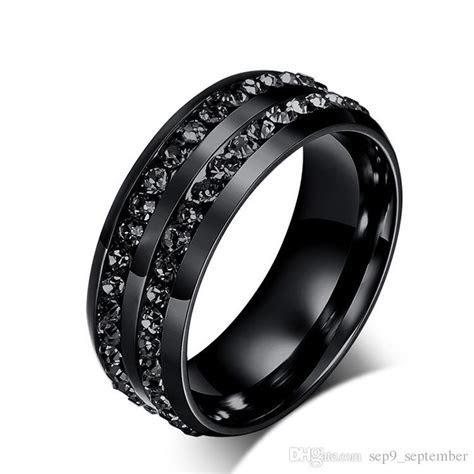Fashion Stainless Steel Jewelry Diamond Rings Korean