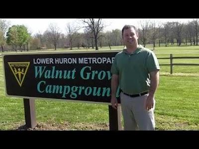 VIDEO: Walnut Grove Campground in Lower Huron Metropark, Belleville, MI