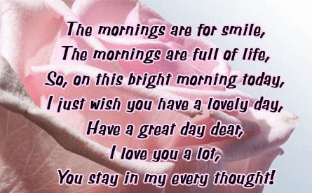 340 Really Cute Good Morning Text Messages For Her