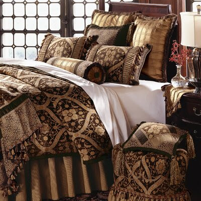 Ruched Decorative Bedding Set | Wayfair