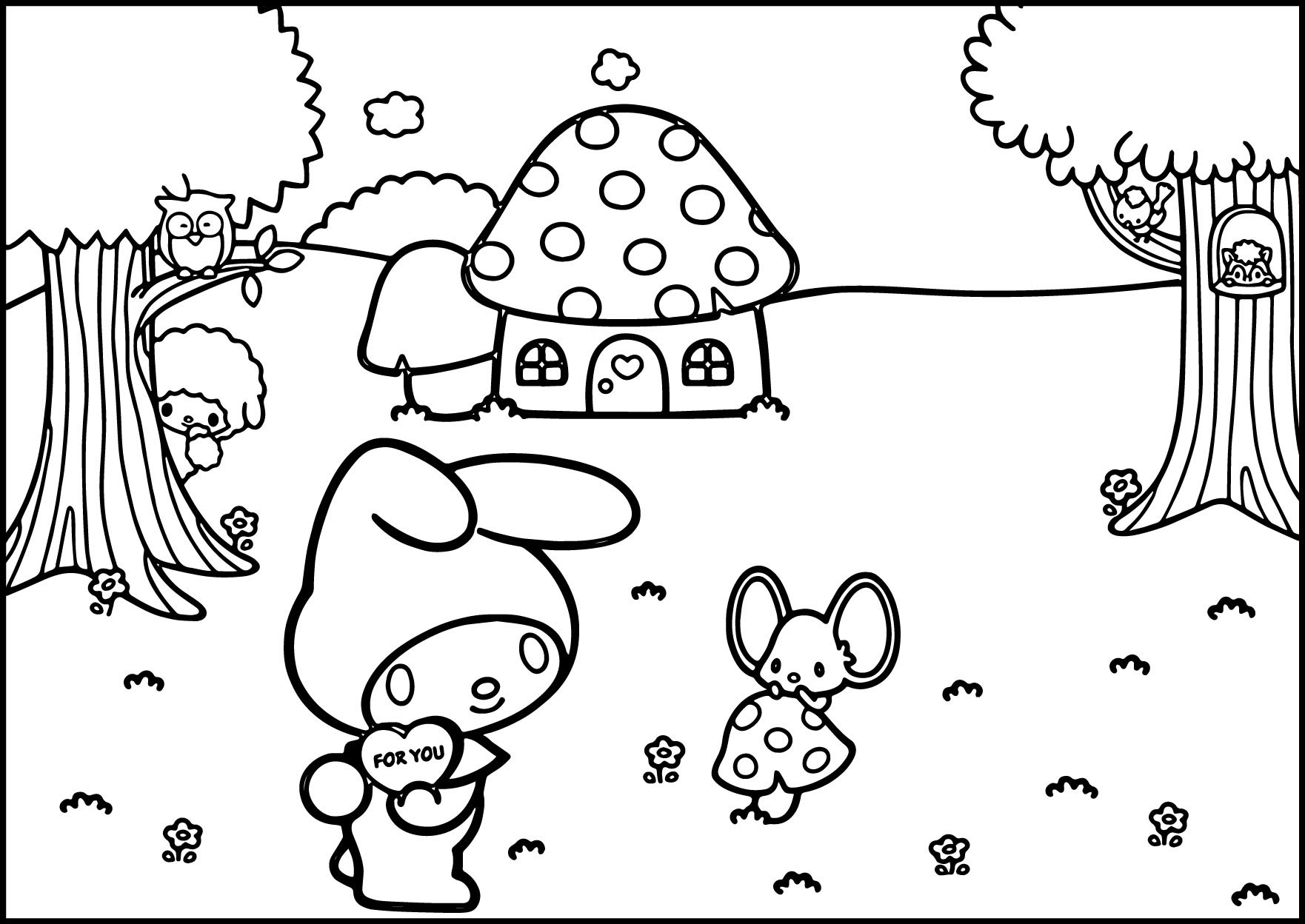 Ariel And Melody Coloring Pages at GetDrawings | Free download