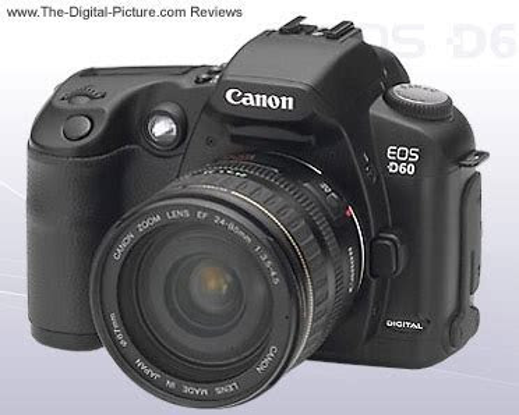 Canon EOS D60 Review