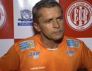 Marcos Nascimento, treinador do Esporte de Patos (Foto: Reprodução / TV Paraíba)